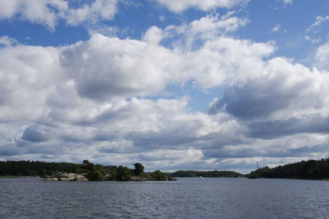 Paysage du lac Malaren - Suède