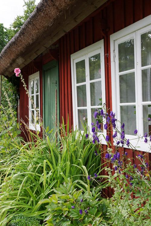 maison suédoise au musée skansen de Stockolm