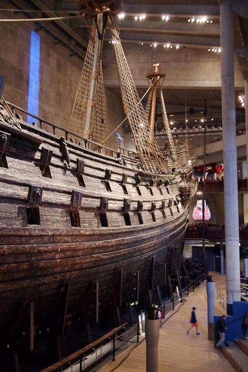 le musée du Vasa à Stockholm