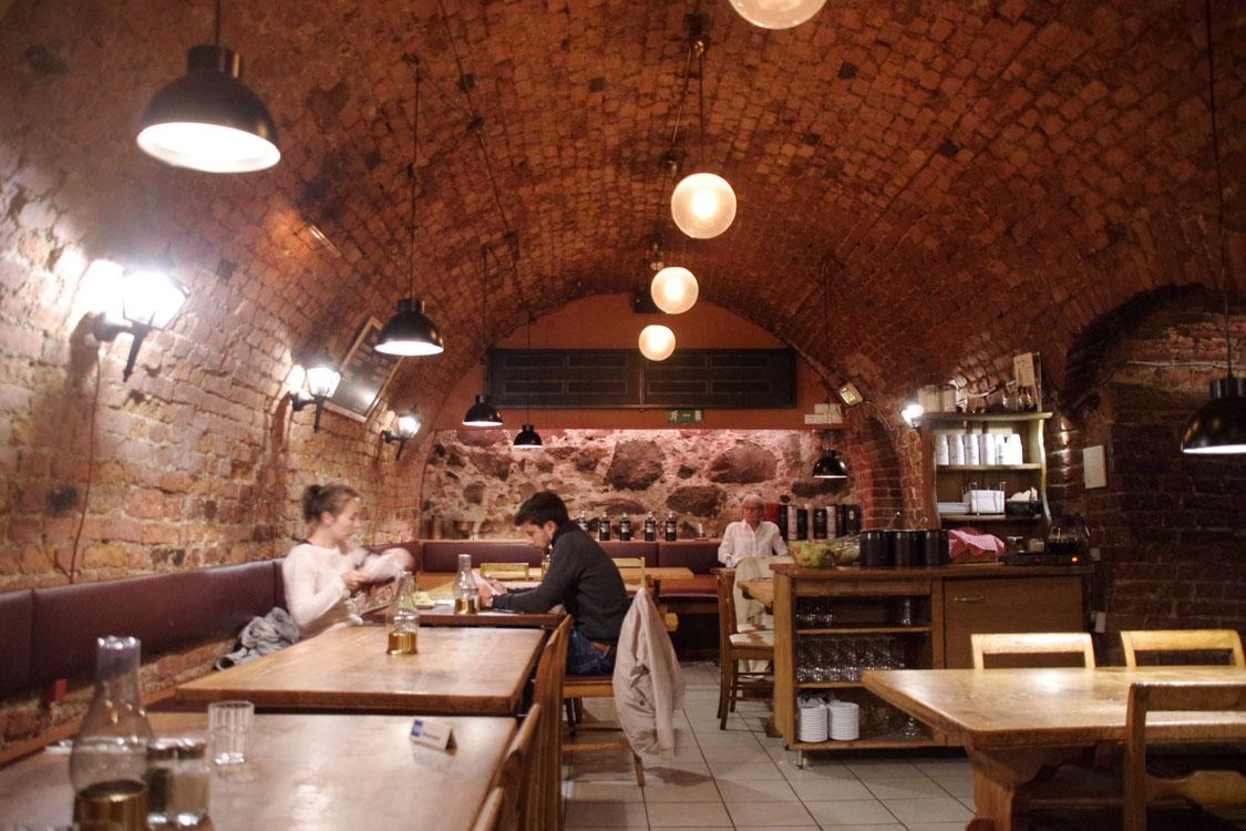 Salle du restaurant Magnus Ladulas dans Gamla Stan