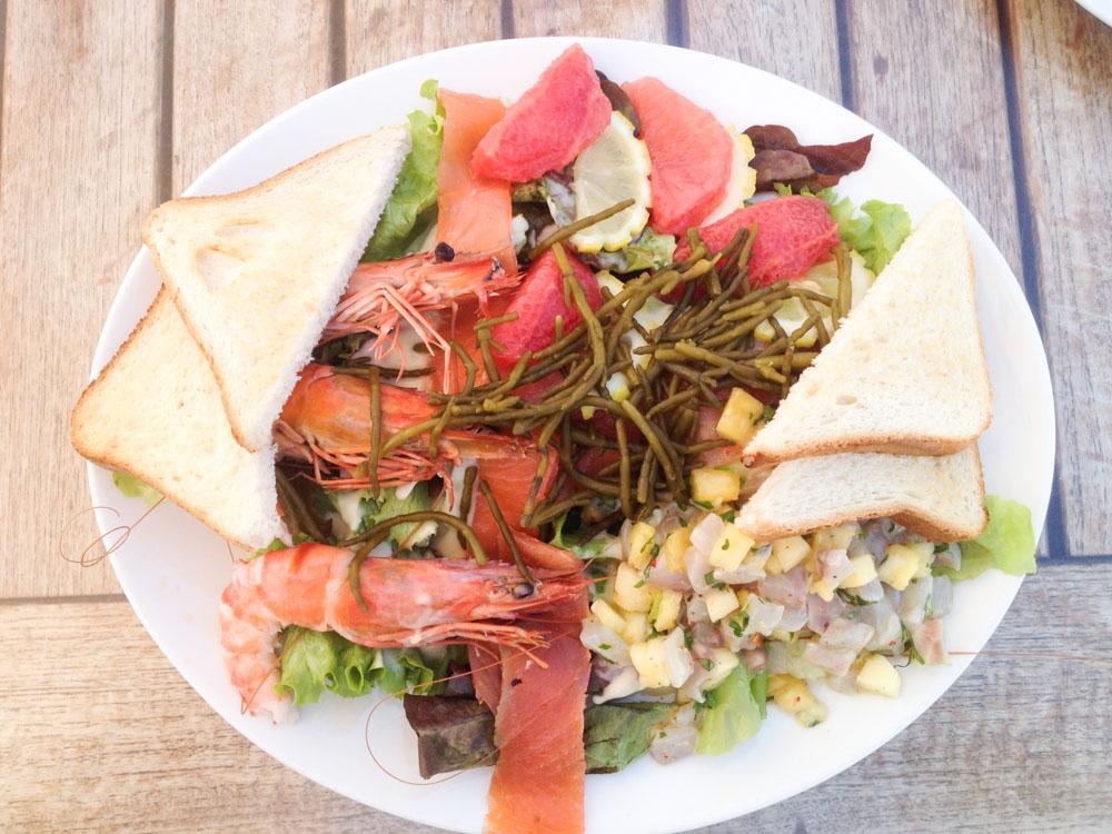 Salade de poissons