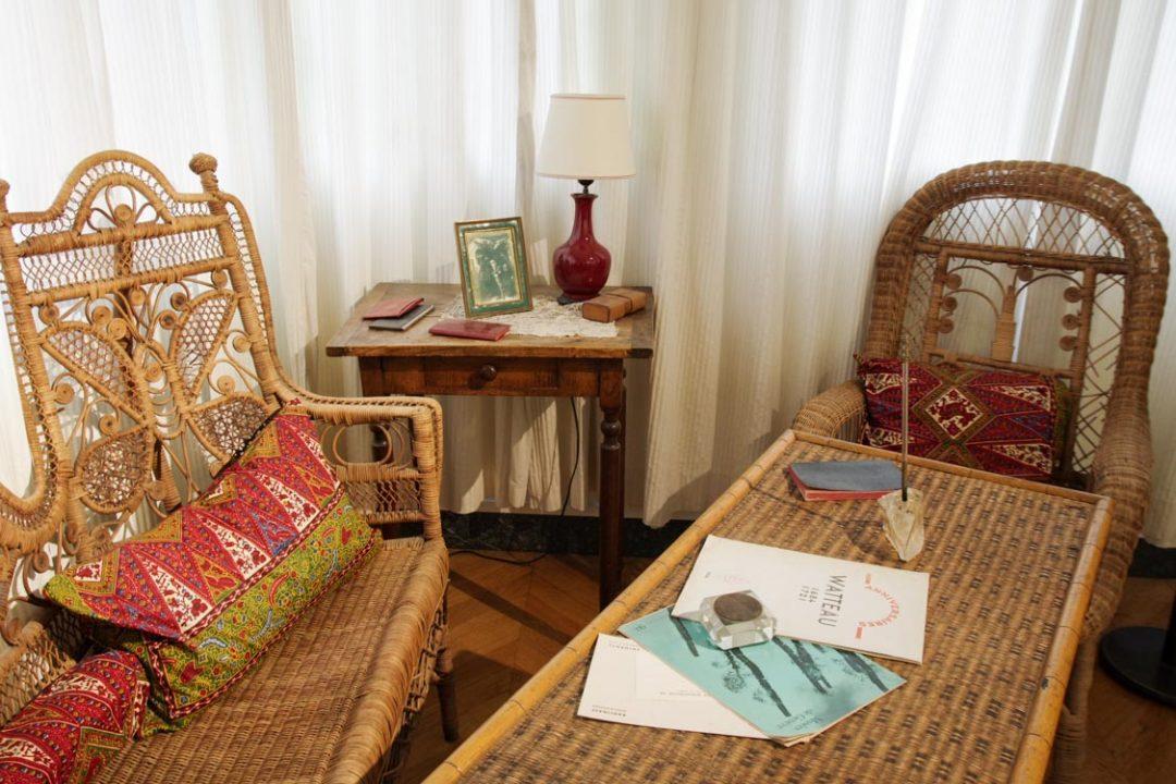 Salon - maison de chateaubriand