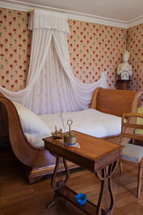 Chambre de Juliette Recamier - maison de chateaubriand