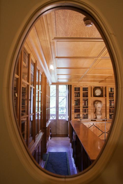 bibliothèque - maison de chateaubriand