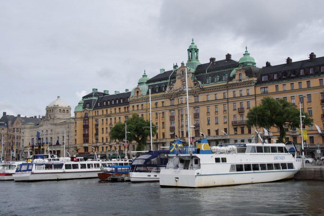 bateau pour l'archipel de Stockholm