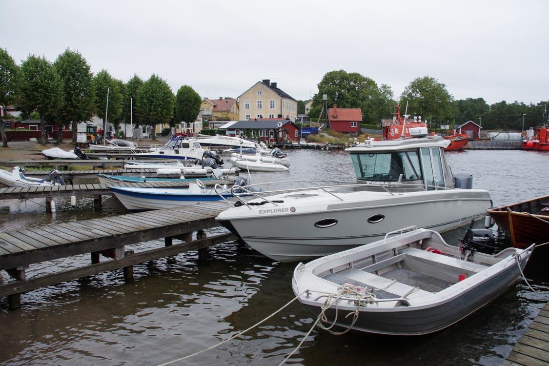 port de l'île de Sandhamn