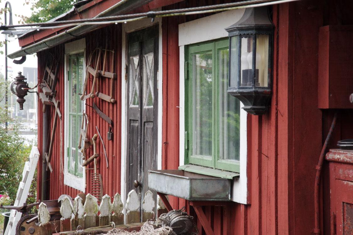 village de Sandhamn dans l'archipel de Stockholm