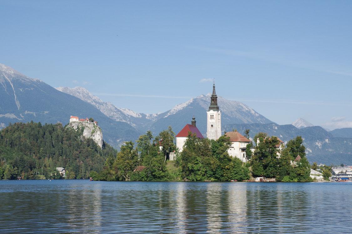 Ile du lac de Bled