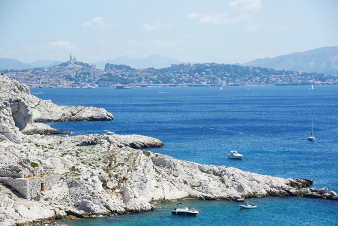Escapade aux îles du Frioul au large de Marseille