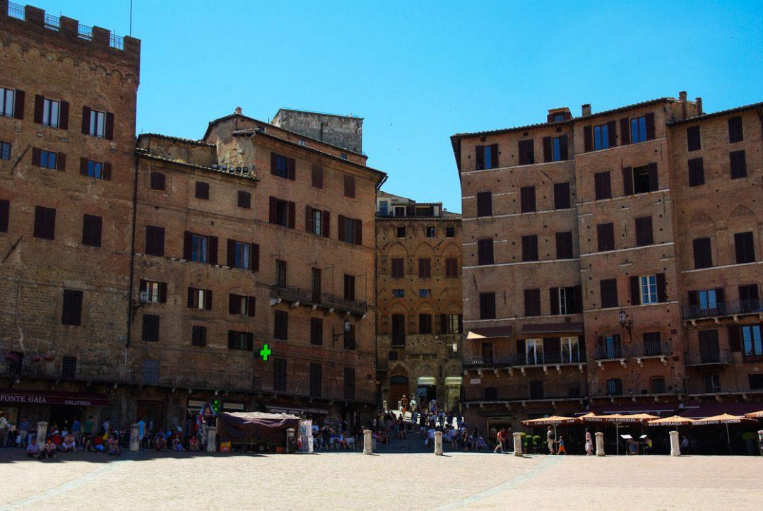 La Piazza Il Campo - Sienne