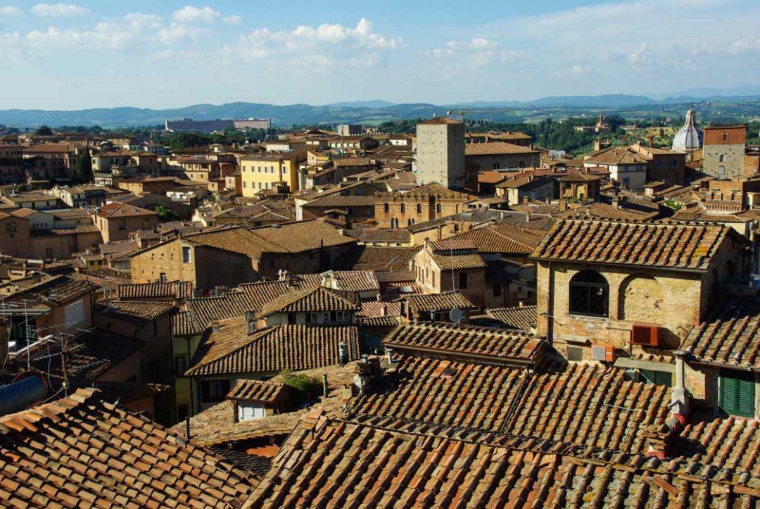 Les toits de Sienne