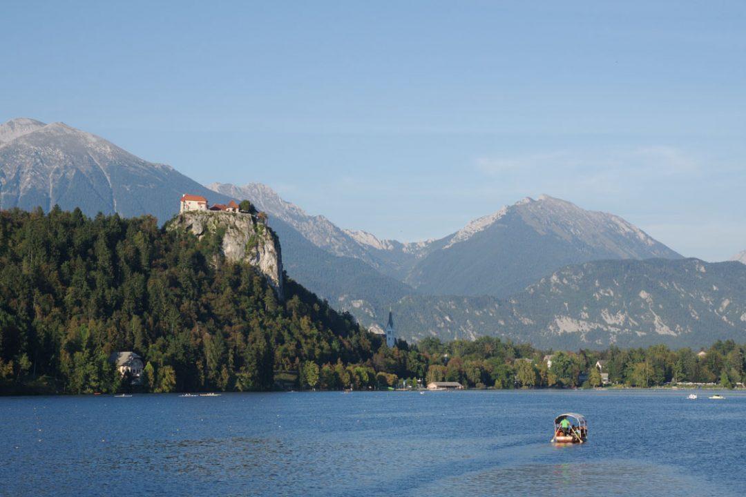 lac de Bled, et vue sur son chateau