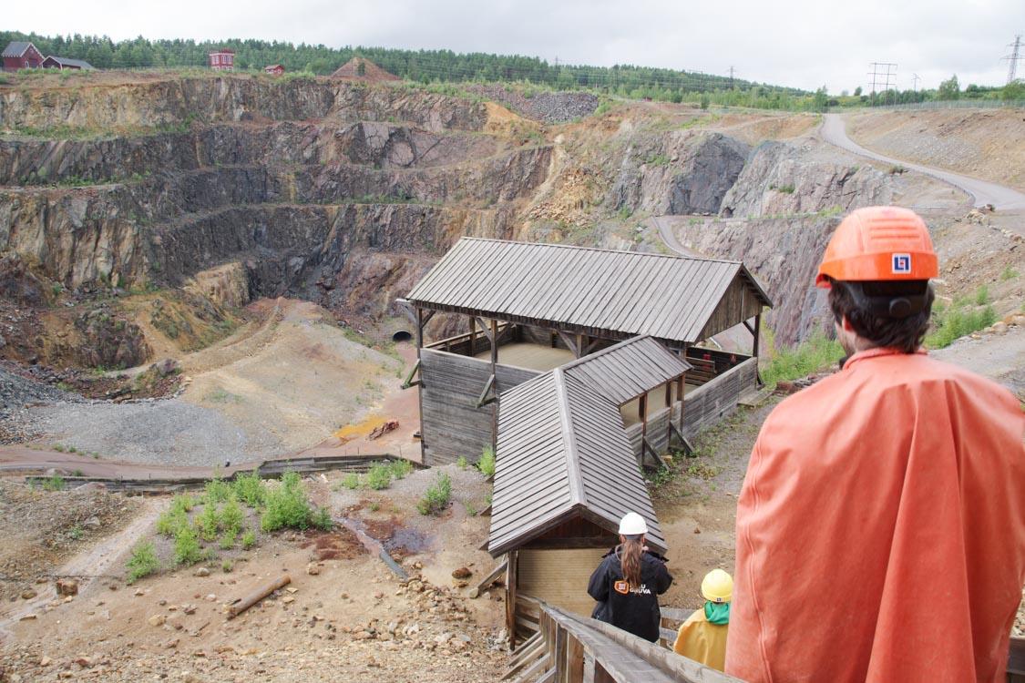 La mine de cuivre de Falun : voyage au centre de la Terre !