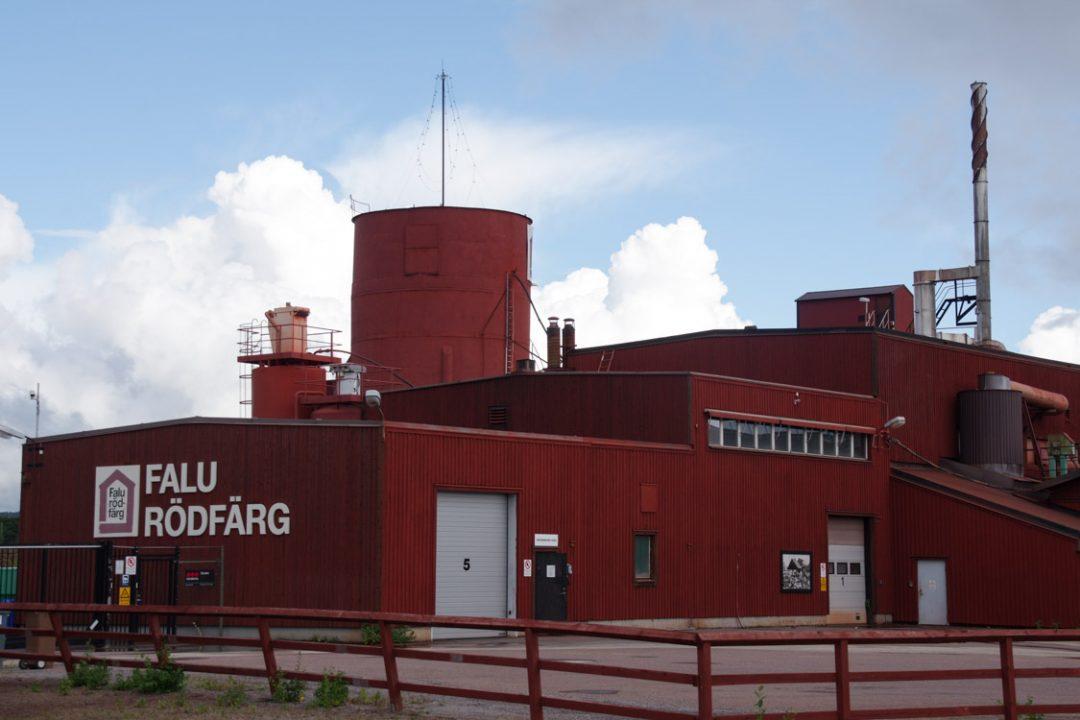 usine falu rodfarg de Falun