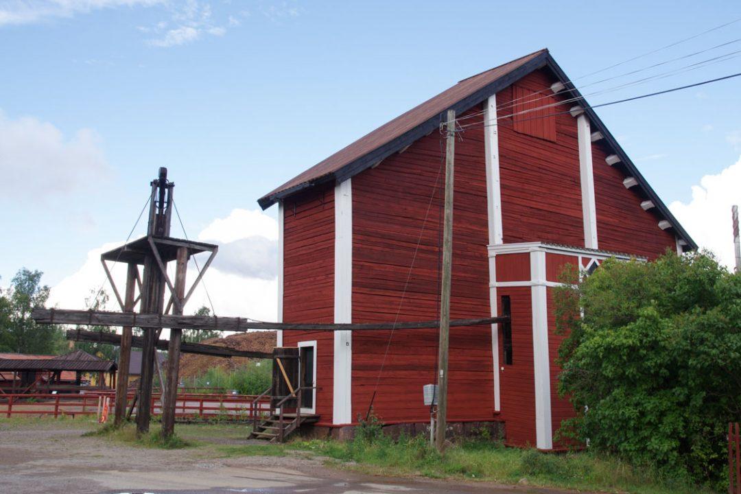 pompe - mine de falun