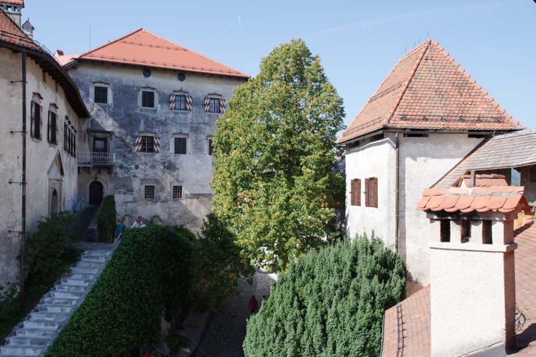Cour intérieur du Chateau de Bled