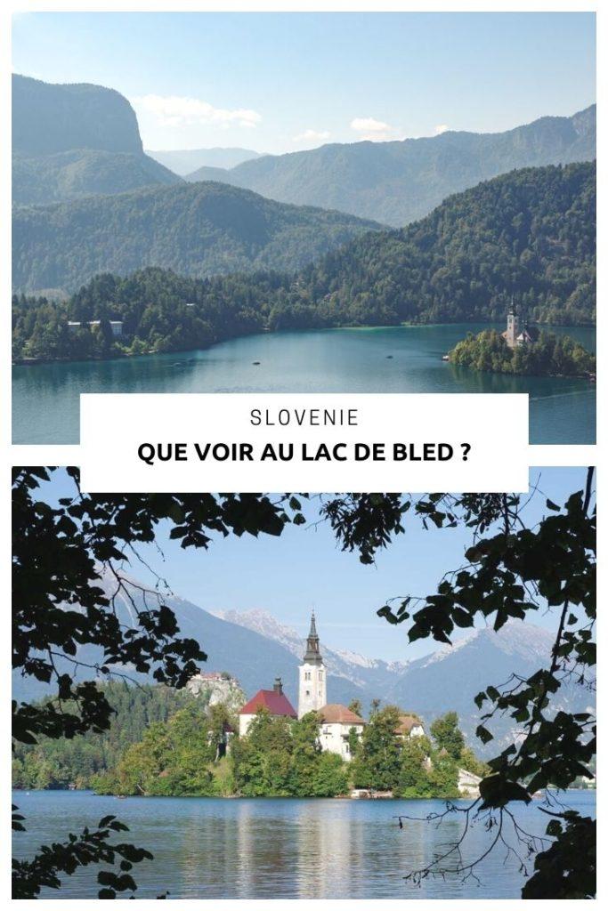 Que faire autour du Lac de Bled, la carte postale de la Slovénie ?
