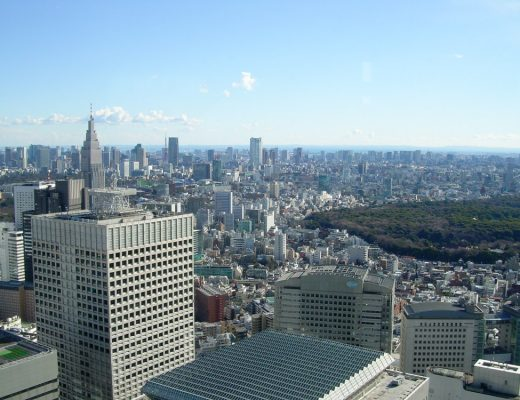 Panorama sur Tokyo depuis la mairie