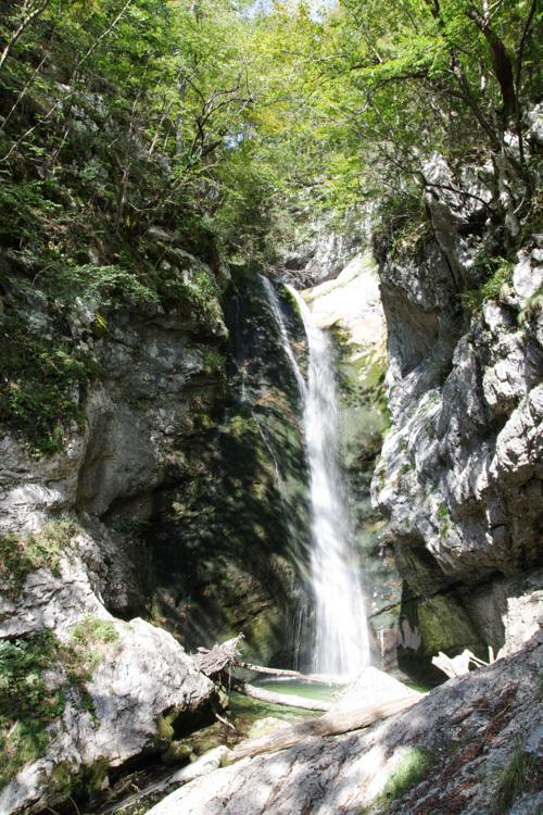 Cascade de Voje - Parc du Triglav - Slovénie