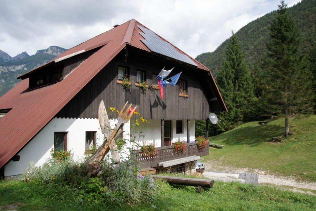 Restaurant d'Alpage dans le Parc National du Triglav