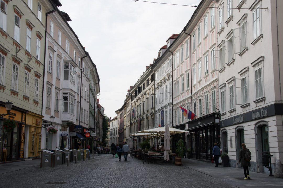 centre ville historique de Ljubljana