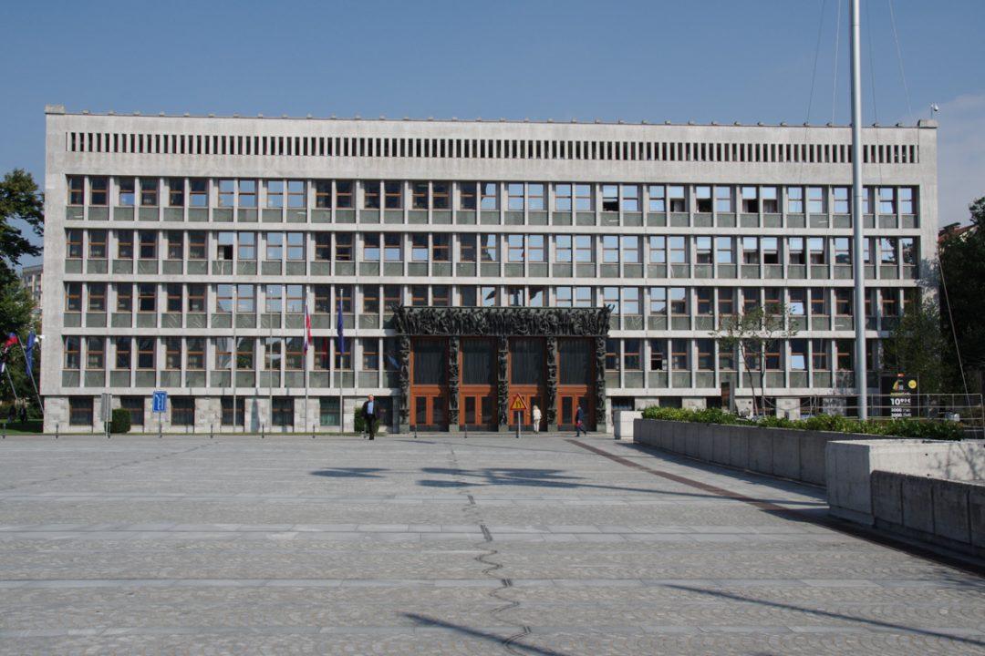 place de la république - Ljubljana