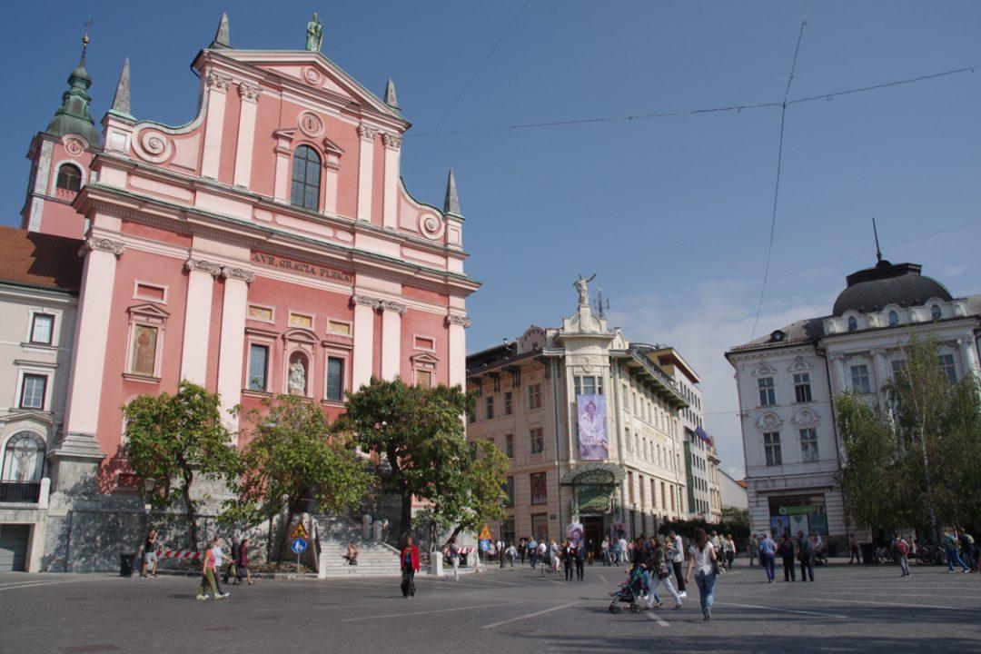 place presernov - Ljubljana