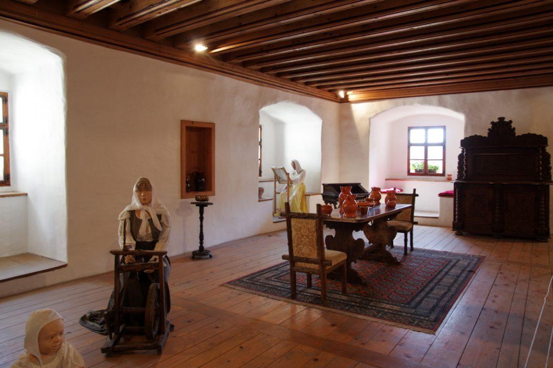 intérieur du château de Predjama