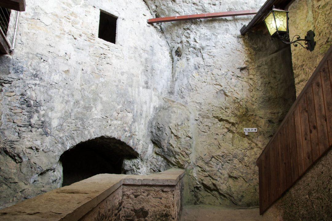 le château troglodyte de Predjama