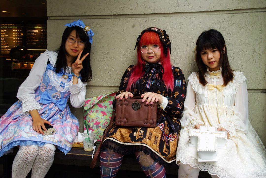 adolescentes japonaises à Harajukui