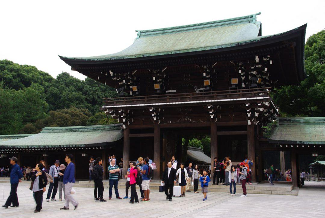 sanctuaire Meiji Jingu - Tokyo