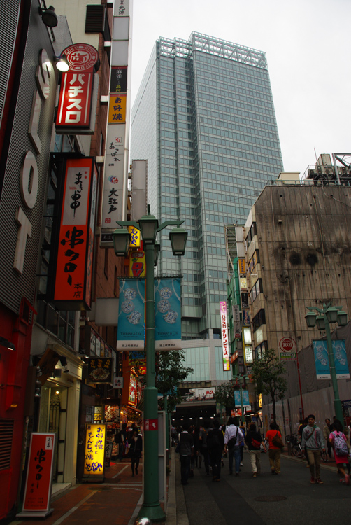 dans les rues de Shinjuku - Tokyo
