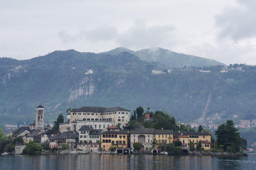 Ile San Giulio - Lac d'Orta