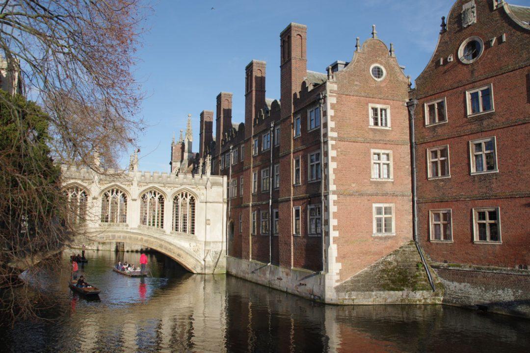 Le pont des soupirs - Cambridge