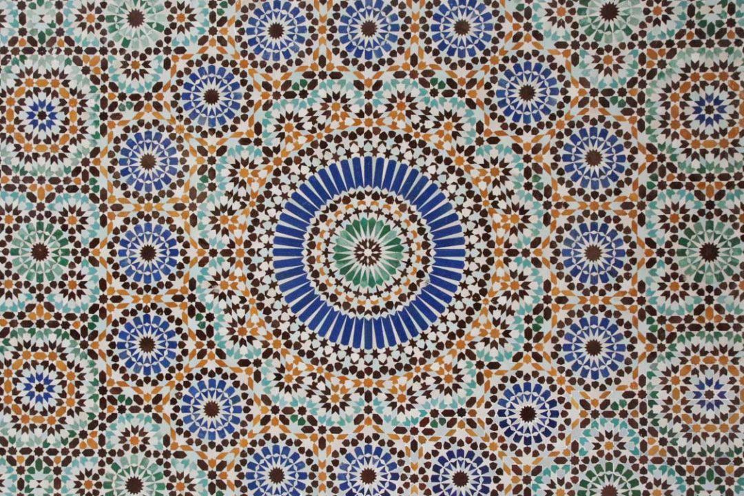 Mosaique - mosquée de Paris