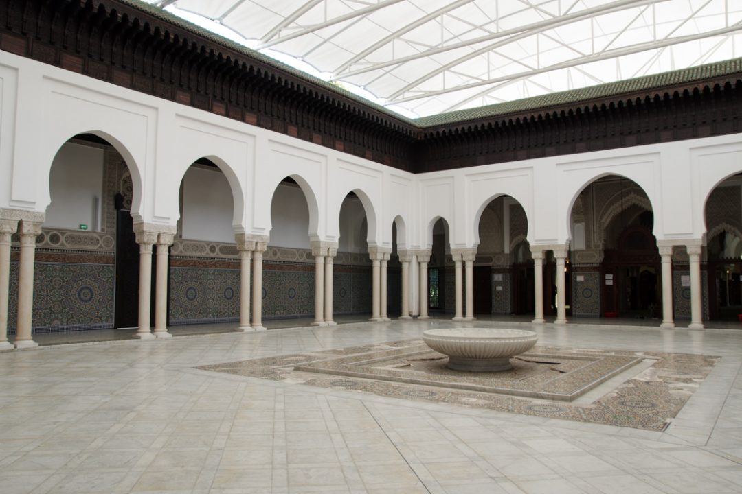 Patio - Mosquée de Paris