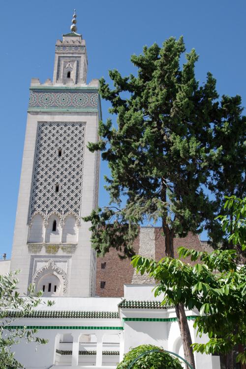 Minaret de la mosquée de paris