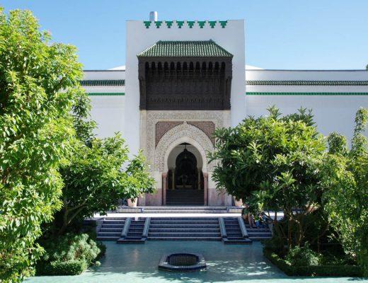Jardin de la mosquée de Paris