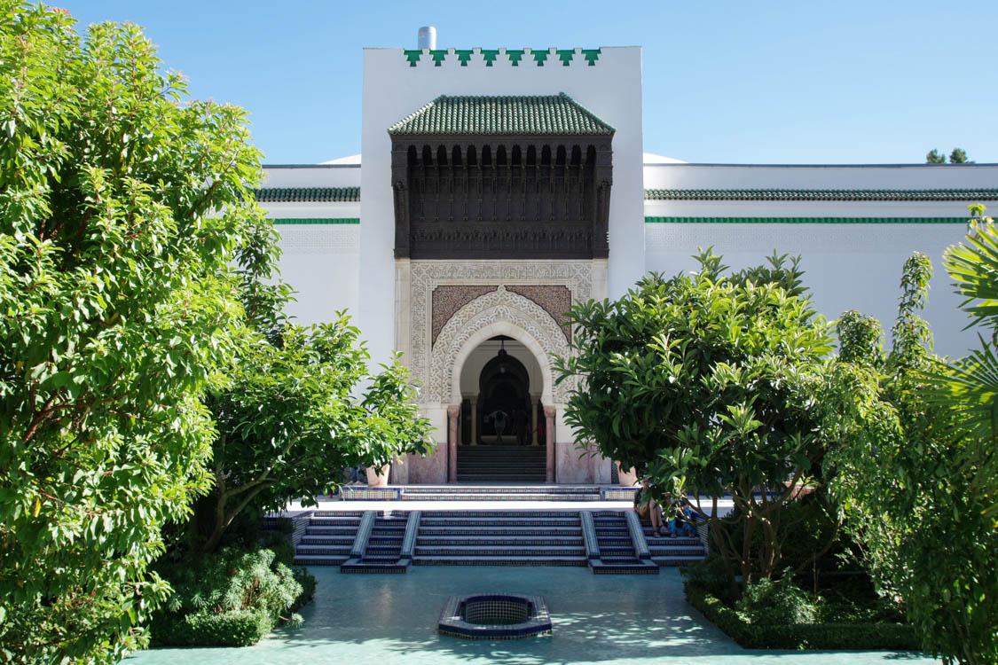 Une bouffée d'exotisme dans les Jardins de la Mosquée de Paris