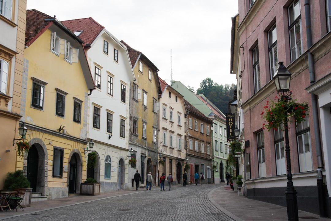 centre historique de Ljubjana
