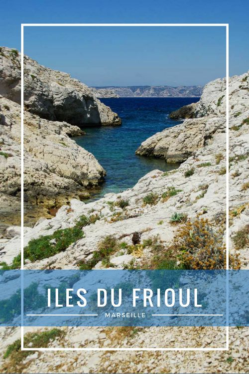 Excursion aux île du Frioul, au large de Marseille