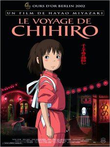 Affiche voyage de Chihiro