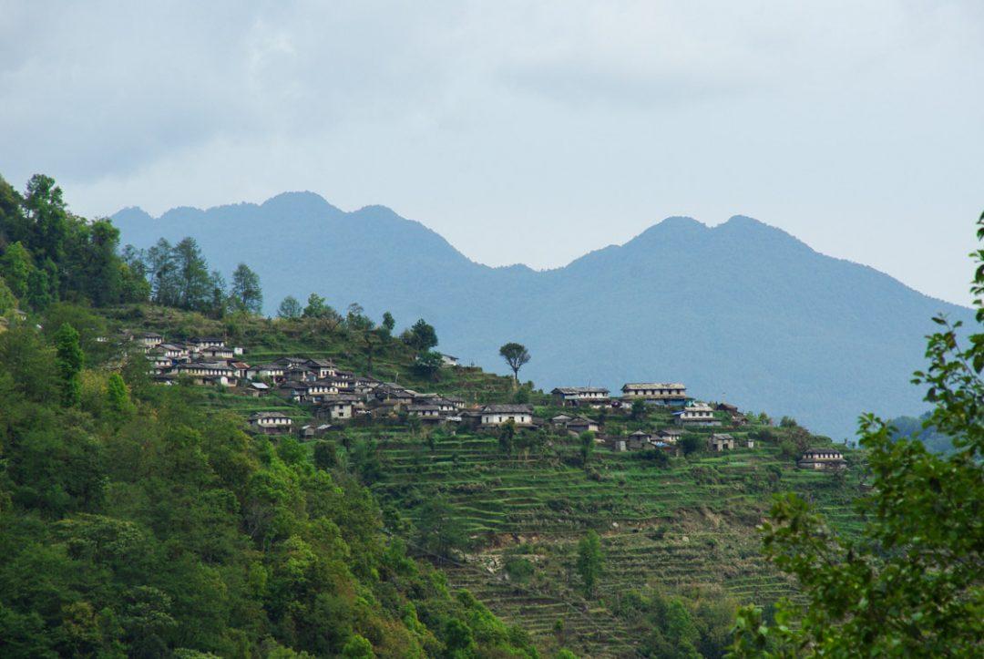 Paysage de l'Annapurna