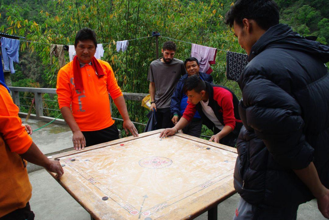 billard népalais