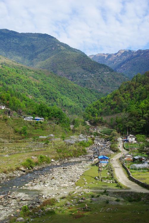 paysage de l'Annapurna - Népal
