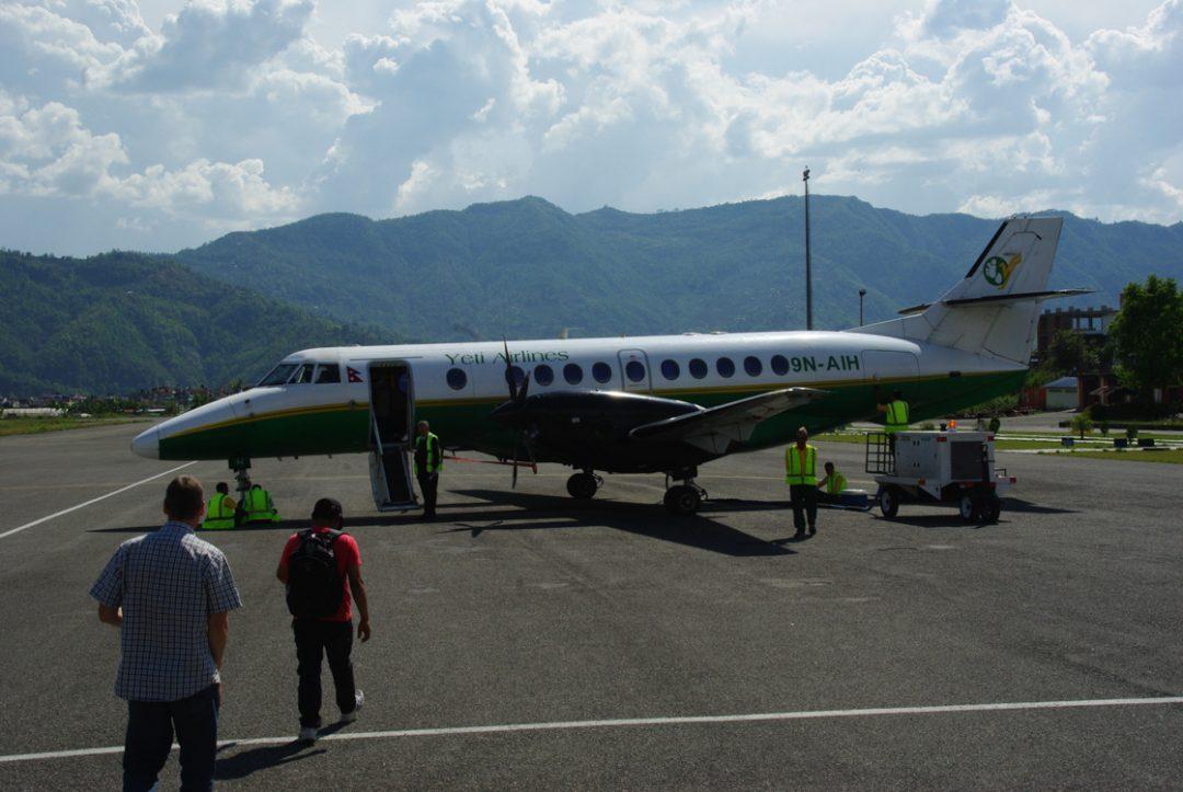 Yeti Airlines - népal