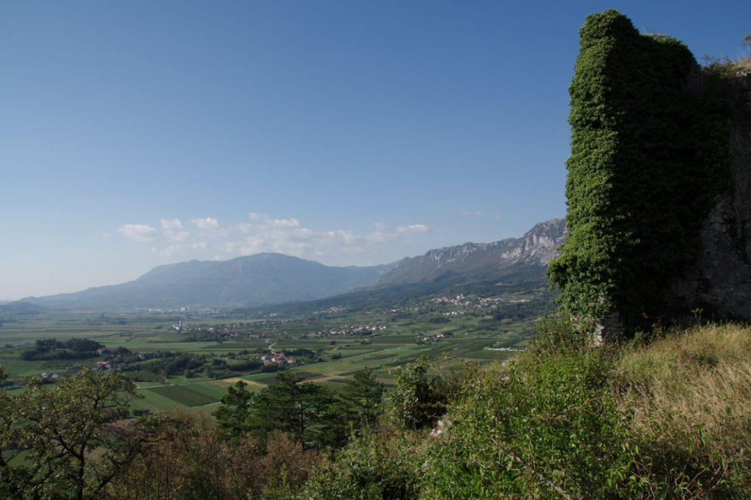 Panorama sur la vallée de Vipava