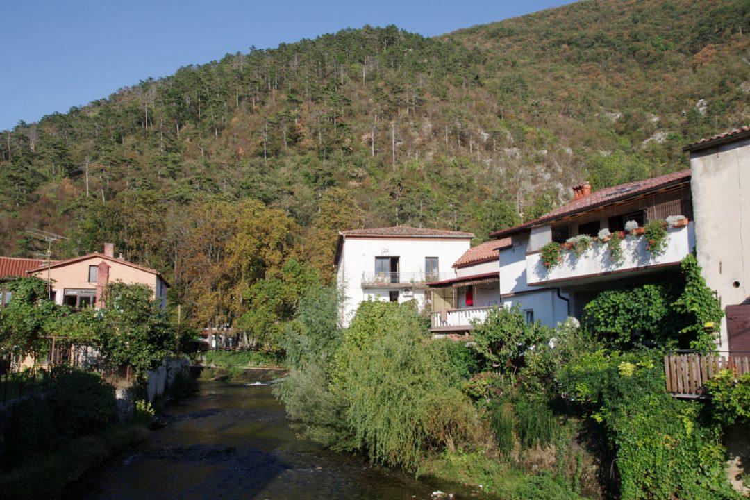 Village de Vipava - Slovénie
