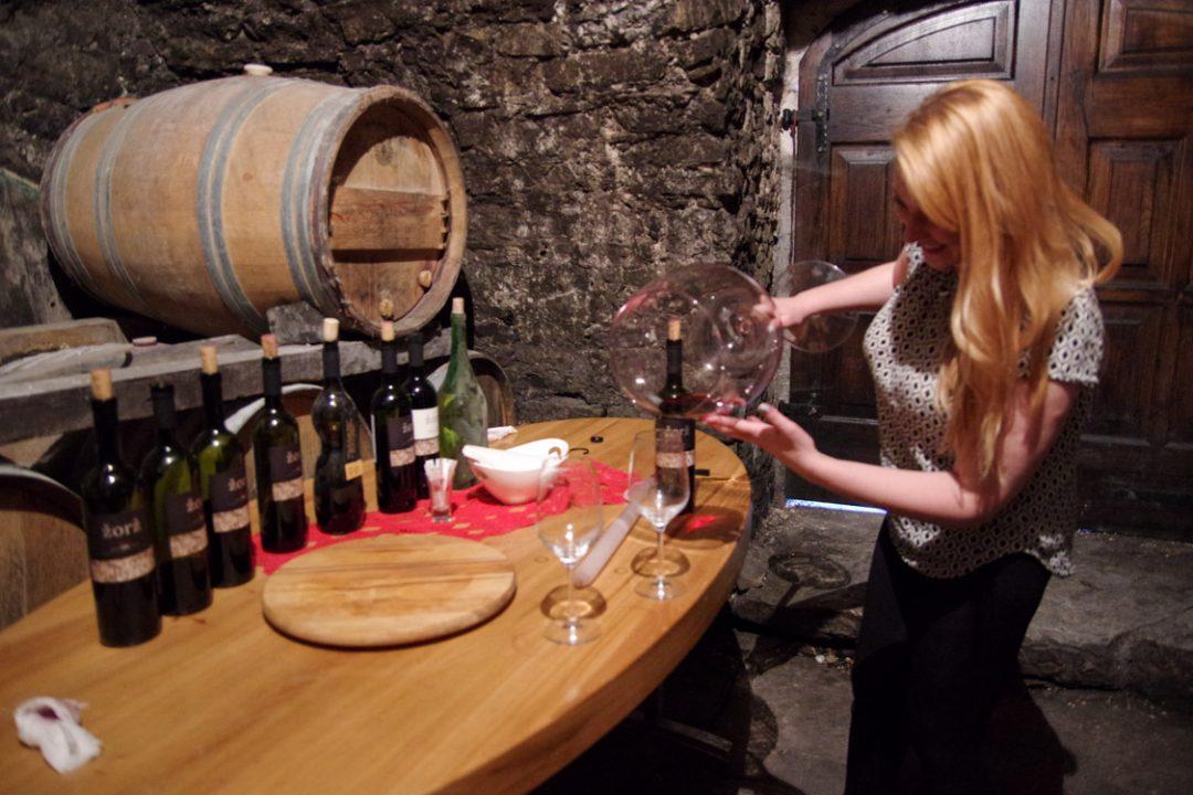 dégustation de vin slovene
