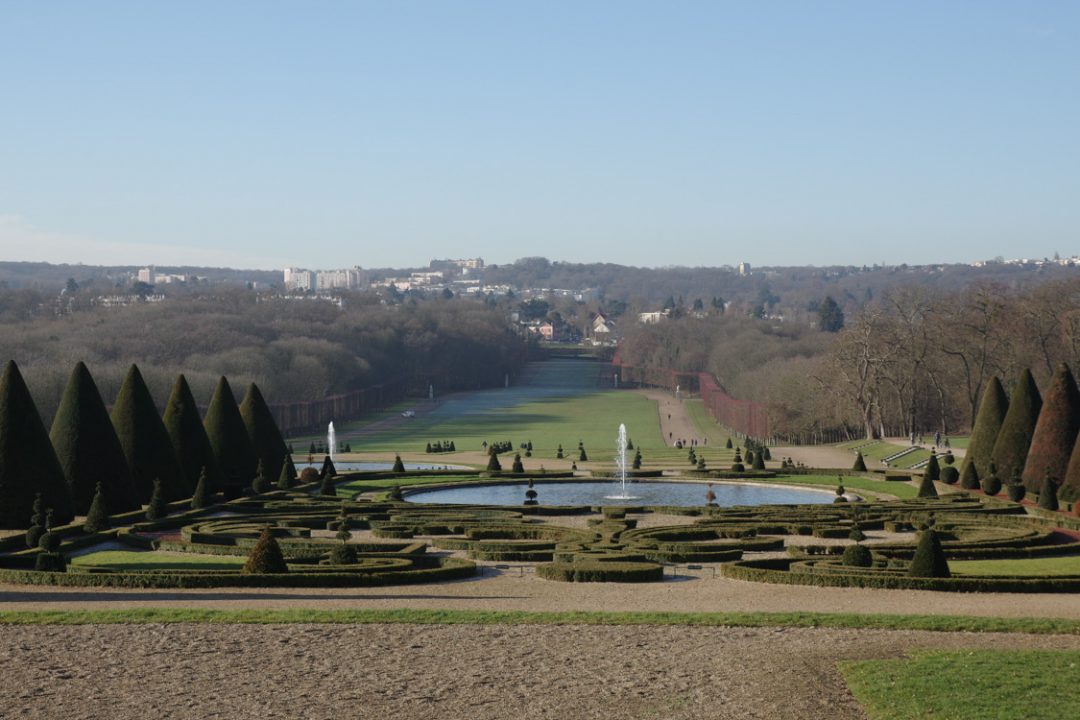 Perspective du parc de Sceaux